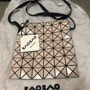 fa1f6d6fd3 Issey Miyake Bags - NWT Issey Miyake Baobao Prism Beige Sling Bag